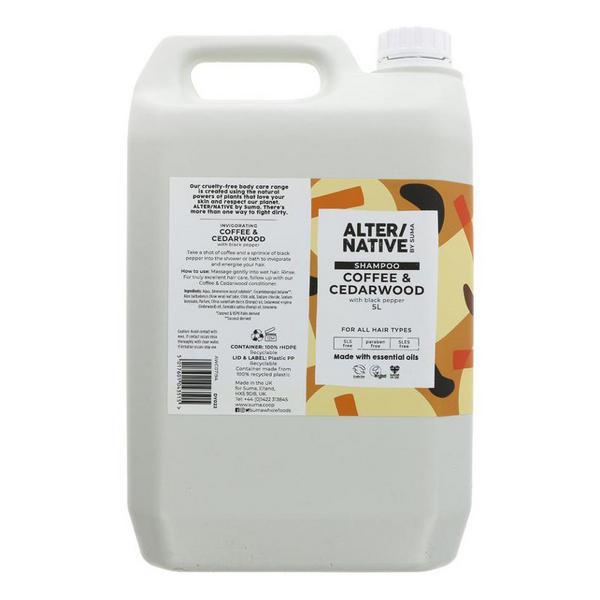 Coffee & Cedarwood Shampoo Vegan