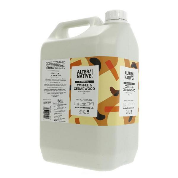 Coffee & Cedarwood Shampoo Vegan image 2