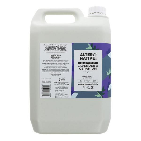 Lavender & Geranium Conditioner Vegan