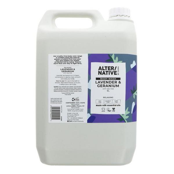 Lavender & Geranium Body Wash Vegan