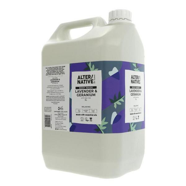 Lavender & Geranium Body Wash Vegan image 2