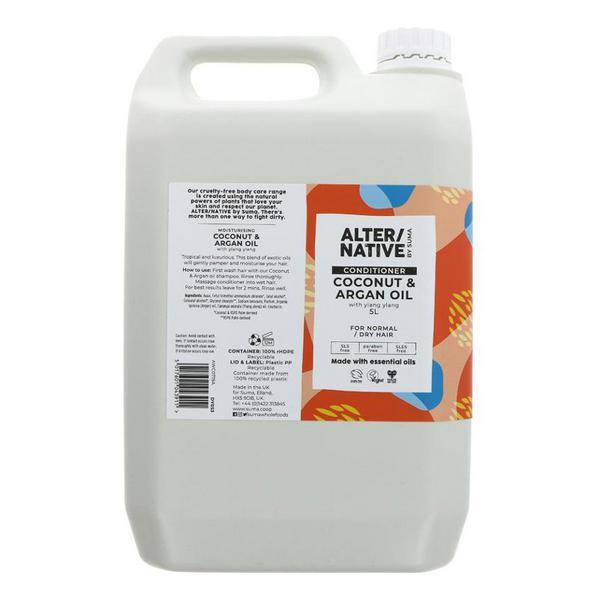 Coconut & Argan Oil Conditioner Vegan