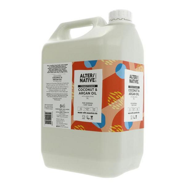 Coconut & Argan Oil Conditioner Vegan image 2