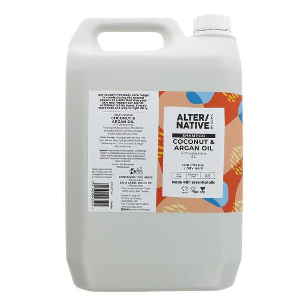Coconut & Argan Oil Shampoo Vegan