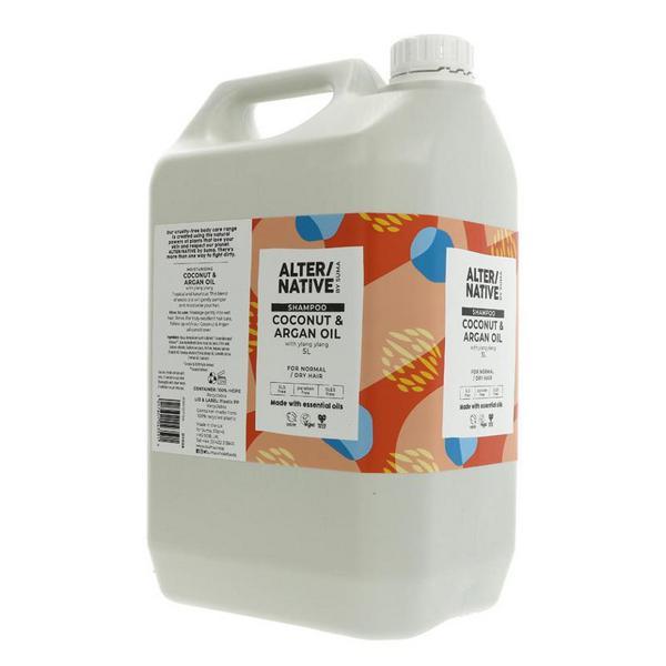 Coconut & Argan Oil Shampoo Vegan image 2