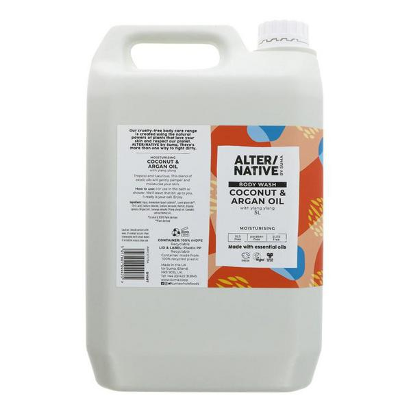 Coconut & Argan Oil Body Wash Vegan