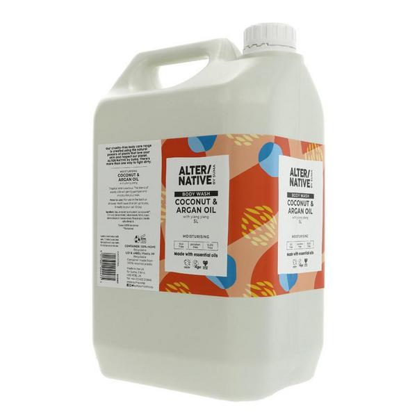 Coconut & Argan Oil Body Wash Vegan image 2