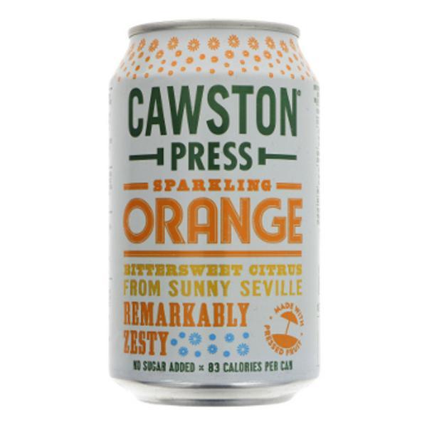 Sparkling Orange Juice Vegan