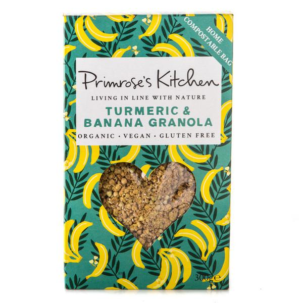 Banana & Turmeric Granola Gluten Free, Vegan, ORGANIC