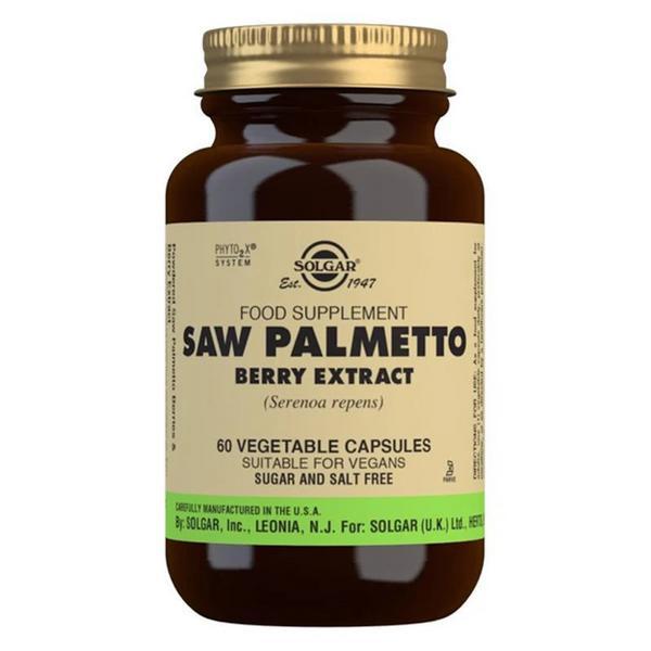 Saw Palmetto Standardised Full Potency Herbal Product Vegan