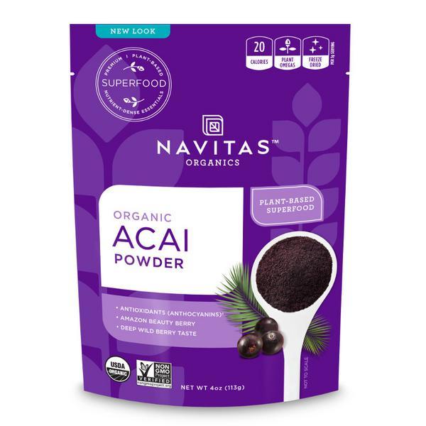 Acai Powder Gluten Free, Vegan, ORGANIC