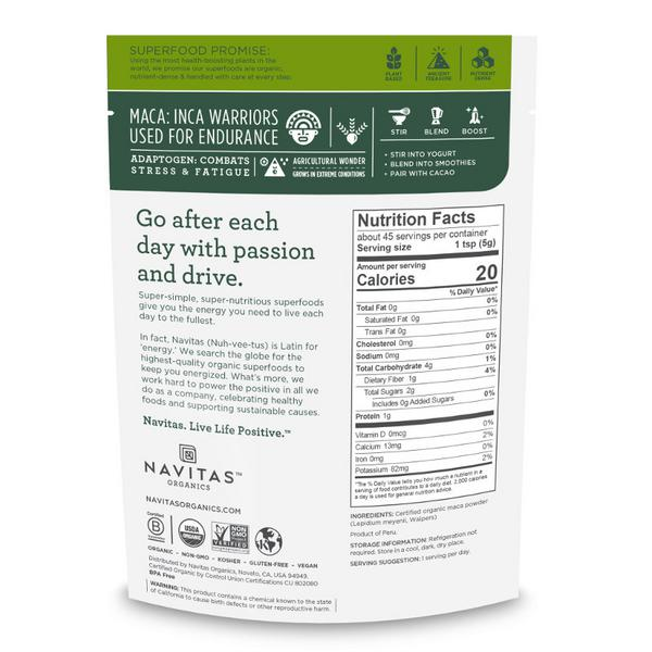 Maca Powder Gluten Free, Vegan, ORGANIC image 2