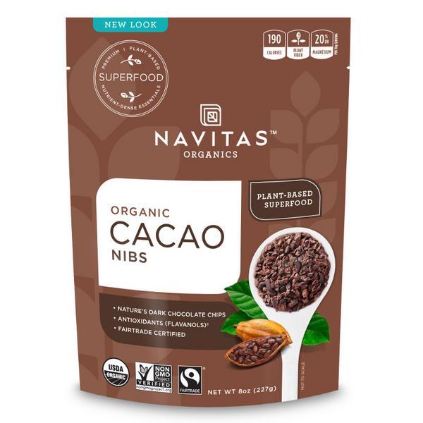 Cacao Nibs Gluten Free, Vegan, FairTrade, ORGANIC