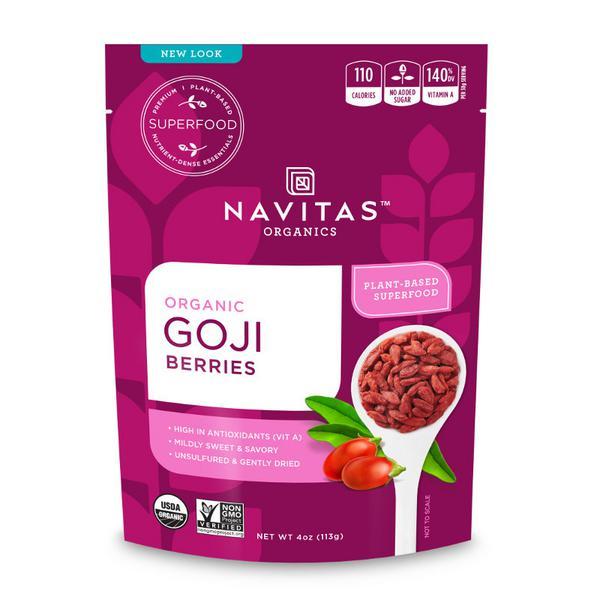 Goji Berries Gluten Free, Vegan, ORGANIC