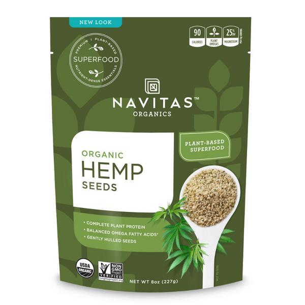 Hemp Seed Gluten Free, ORGANIC