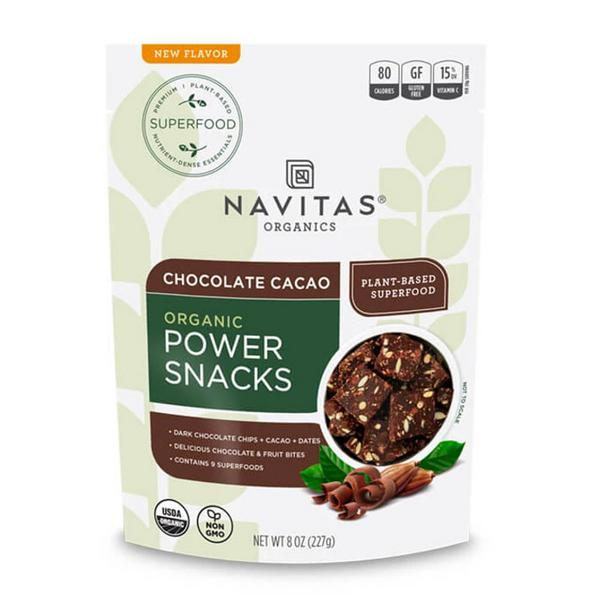 Chocolate Cacao Power Snacks Gluten Free, Vegan, ORGANIC