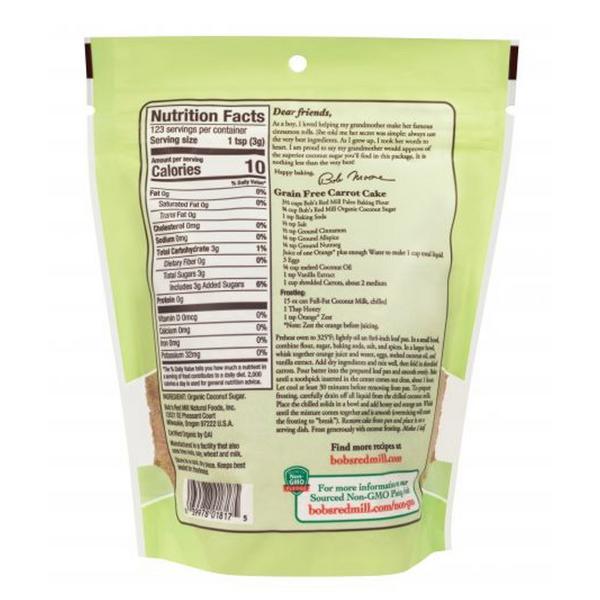 Coconut Sugar Gluten Free, Vegan, ORGANIC image 2