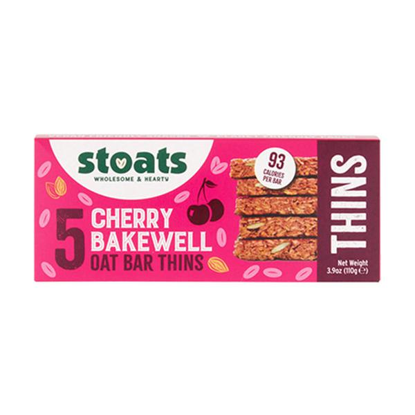 Cherry Bakewell Oat Bar Thins Vegan