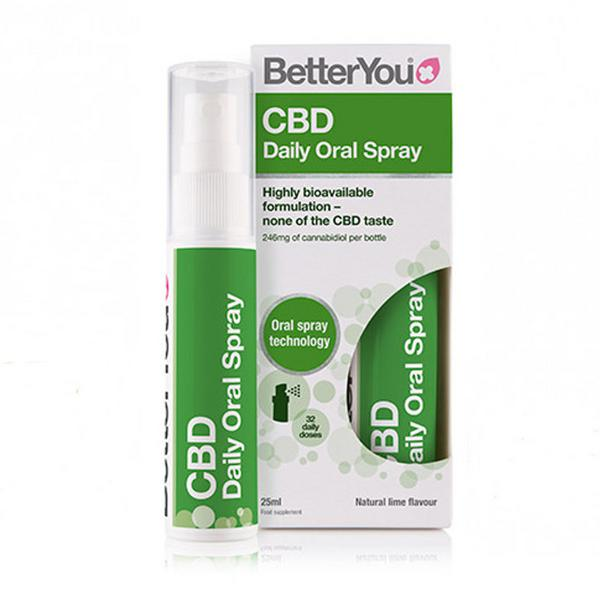 Natural Lime CBD Spray Gluten Free, Vegan