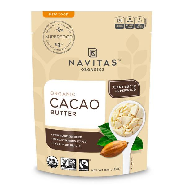 Cacao Butter Gluten Free, no added sugar, Vegan, FairTrade