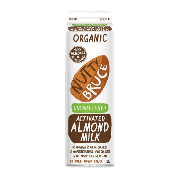 Unsweetened Activated Almond Milk Vegan, ORGANIC