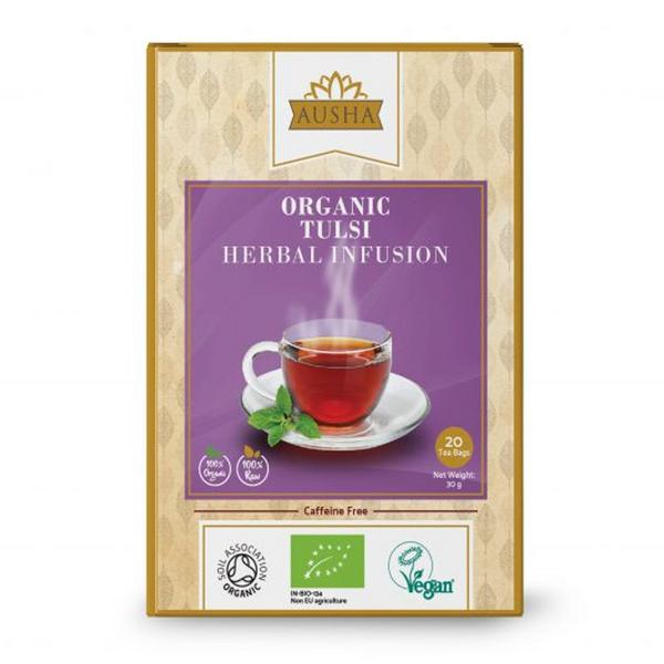 Tulsi Herbal Infusion Tea Vegan, ORGANIC