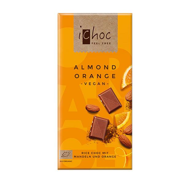 Almond & Orange Chocolate Vegan