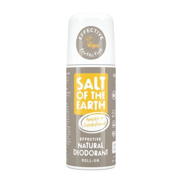 Amber & Sandalwood Roll On Deodorant Vegan
