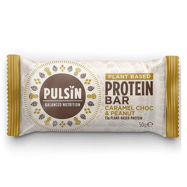 Caramel Choc & Peanut Protein Bar Gluten Free, Vegan
