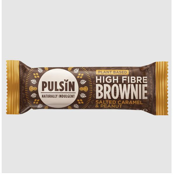 Salted Caramel & Peanut Raw Choc Brownie Snackbar
