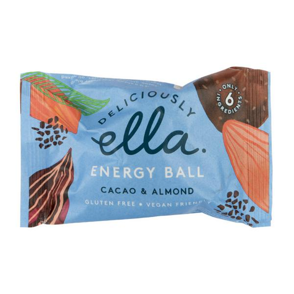 Cacao & Almond Energy Ball Gluten Free, Vegan