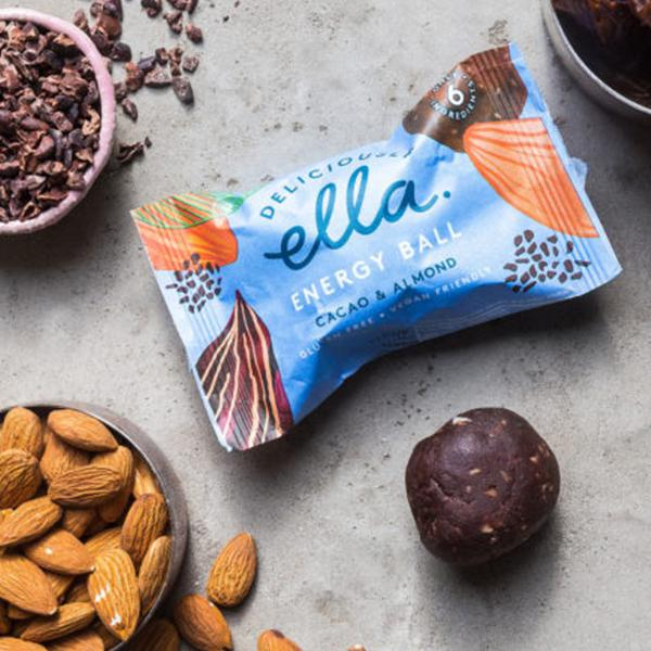 Cacao & Almond Energy Ball Gluten Free, Vegan image 2