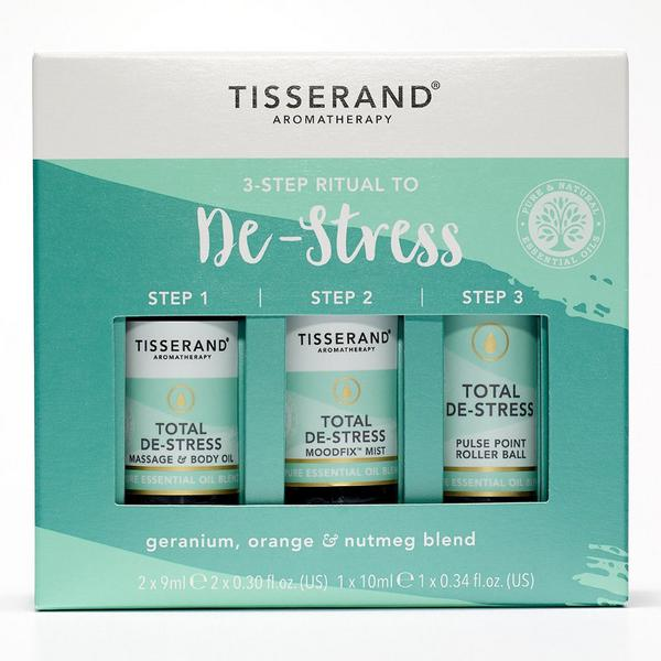 3 Step De-Stress Kit Geranium,Orange & Nutmeg Vegan