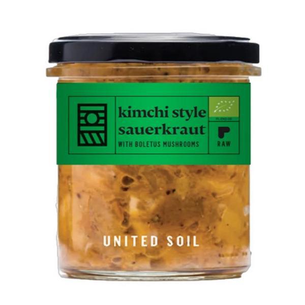 Kimchi Style Sauerkraut Boletus Mushrooms ORGANIC