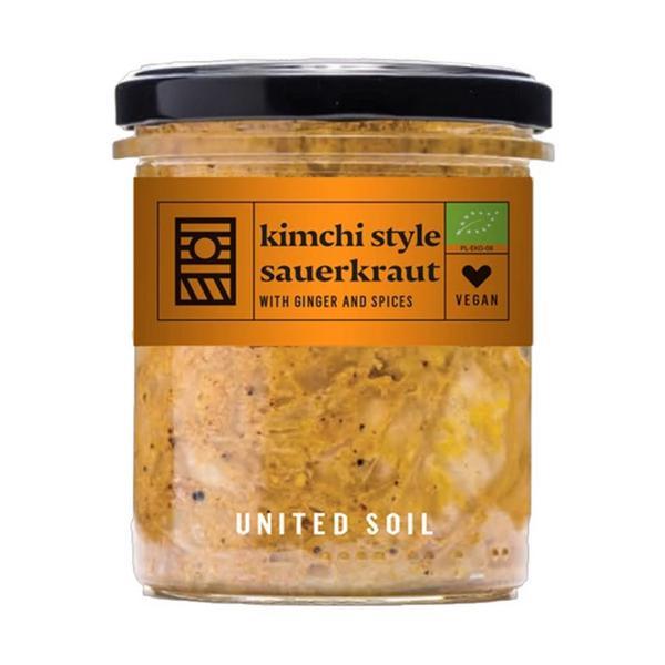 Kimchi Style Sauerkraut Ginger & Spices Vegan, ORGANIC