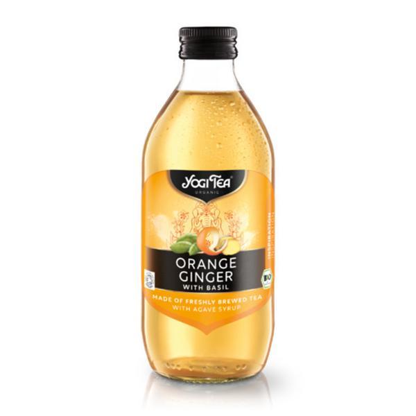 Orange,Ginger & Basil Cold Tea Gluten Free, Vegan