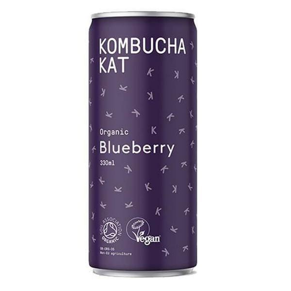 Blueberry Kombucha Vegan, ORGANIC