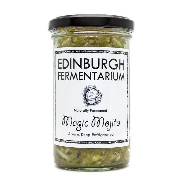 Magic Mojito Fermented Vegetables Vegan