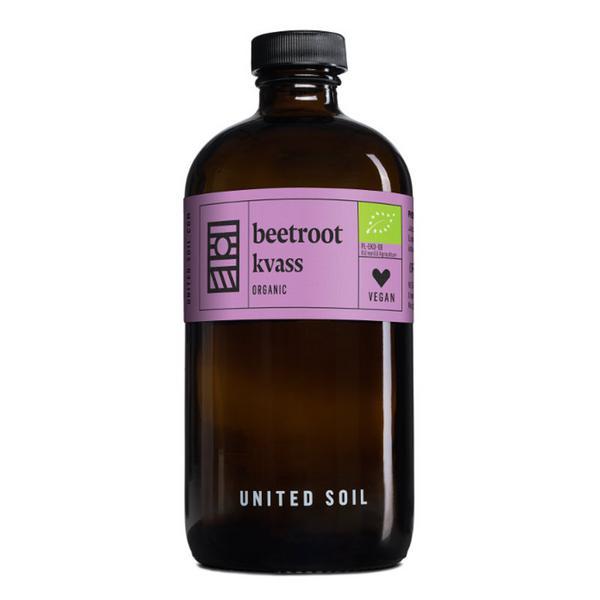 Beetroot Kvass Unpasteurised Vegan, ORGANIC