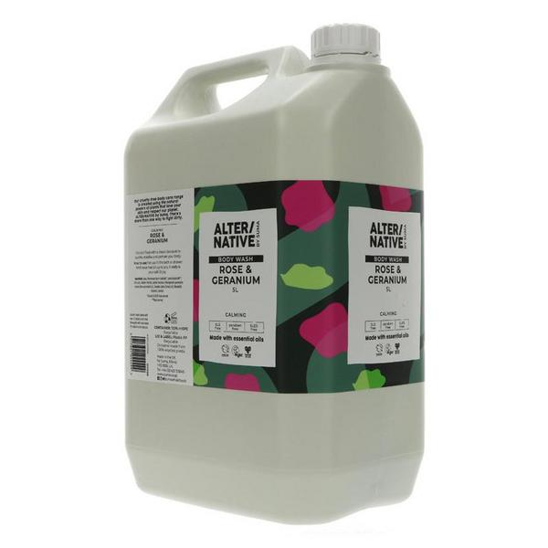 Rose & Geranium Body Wash Vegan image 2