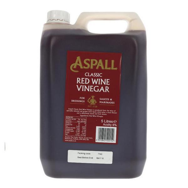Classic Red Wine Vinegar Vegan