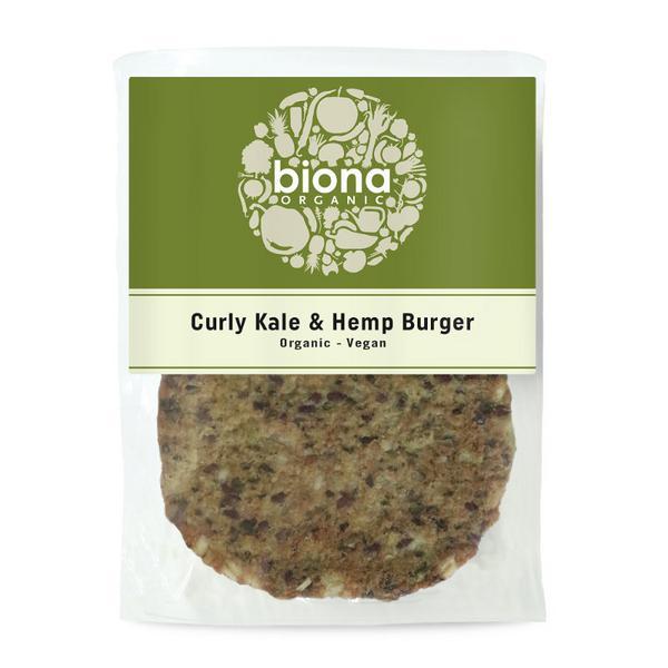 Curly Kale & Hemp Burgers Vegan, ORGANIC