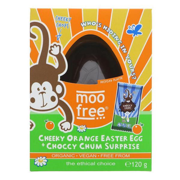 Cheeky Orange Chocolate Easter Egg Gluten Free, Vegan