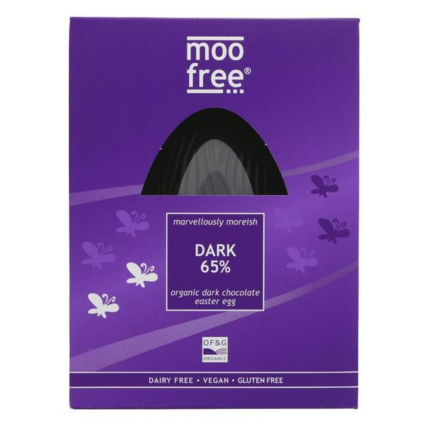 65% Dark Chocolate Easter Egg Gluten Free, Vegan, ORGANIC