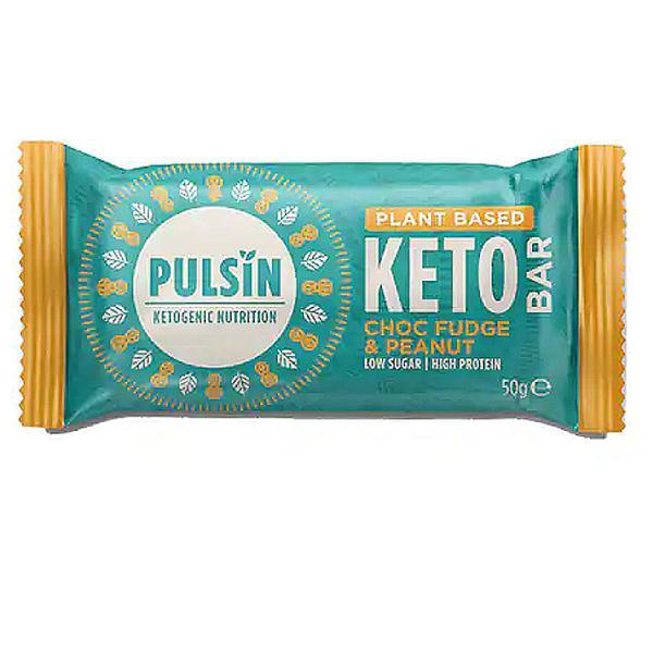 Choc Fudge & Peanut Keto Protein Bar Gluten Free, Vegan
