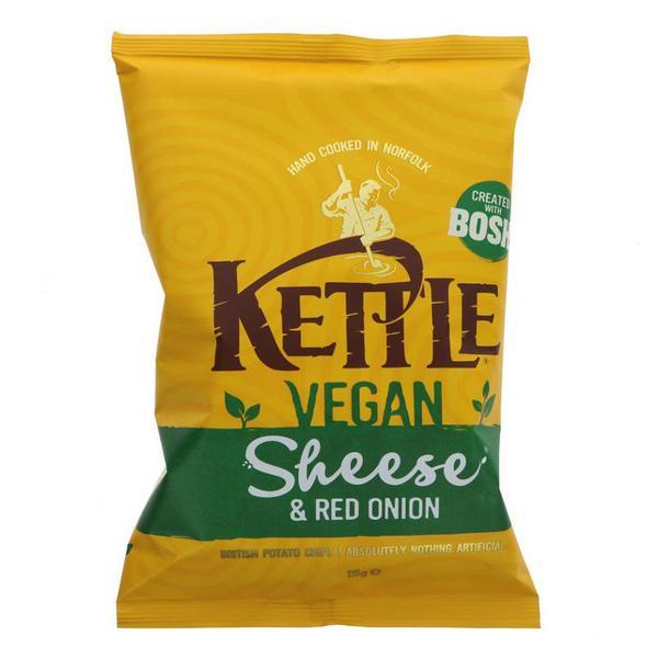Sheese & Red Onion Crisps Gluten Free, Vegan