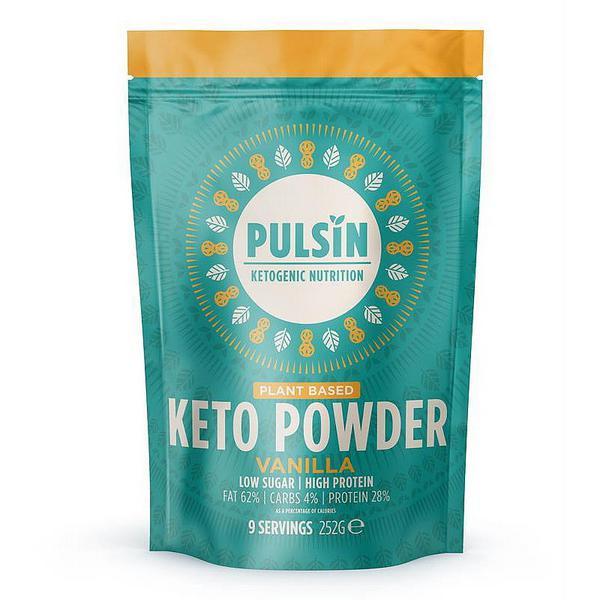 Vanilla Keto Protein Powder Gluten Free, Vegan