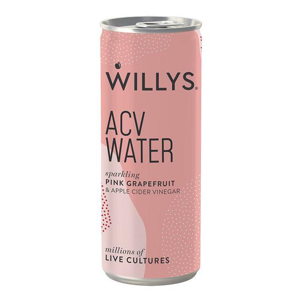 Pink Grapefruit ACV Water Vegan