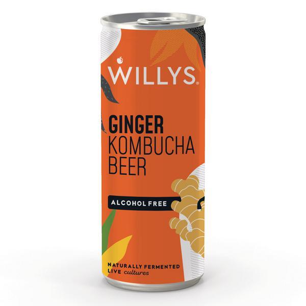 Ginger Kombucha Beer Vegan