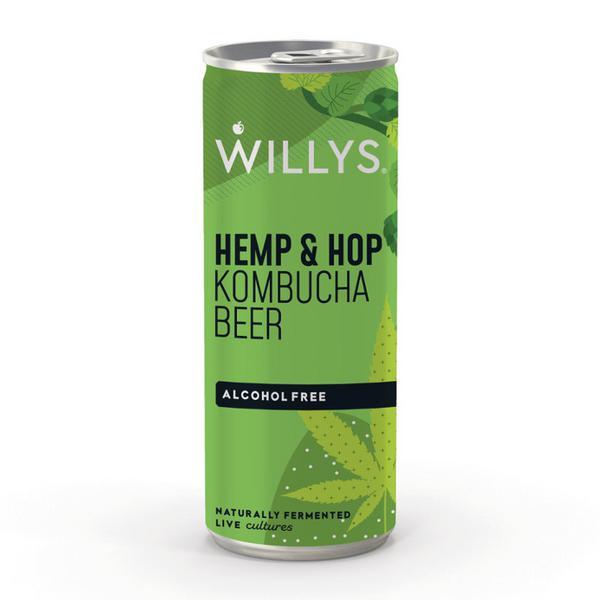 Hemp & Hop Kombucha Beer Vegan